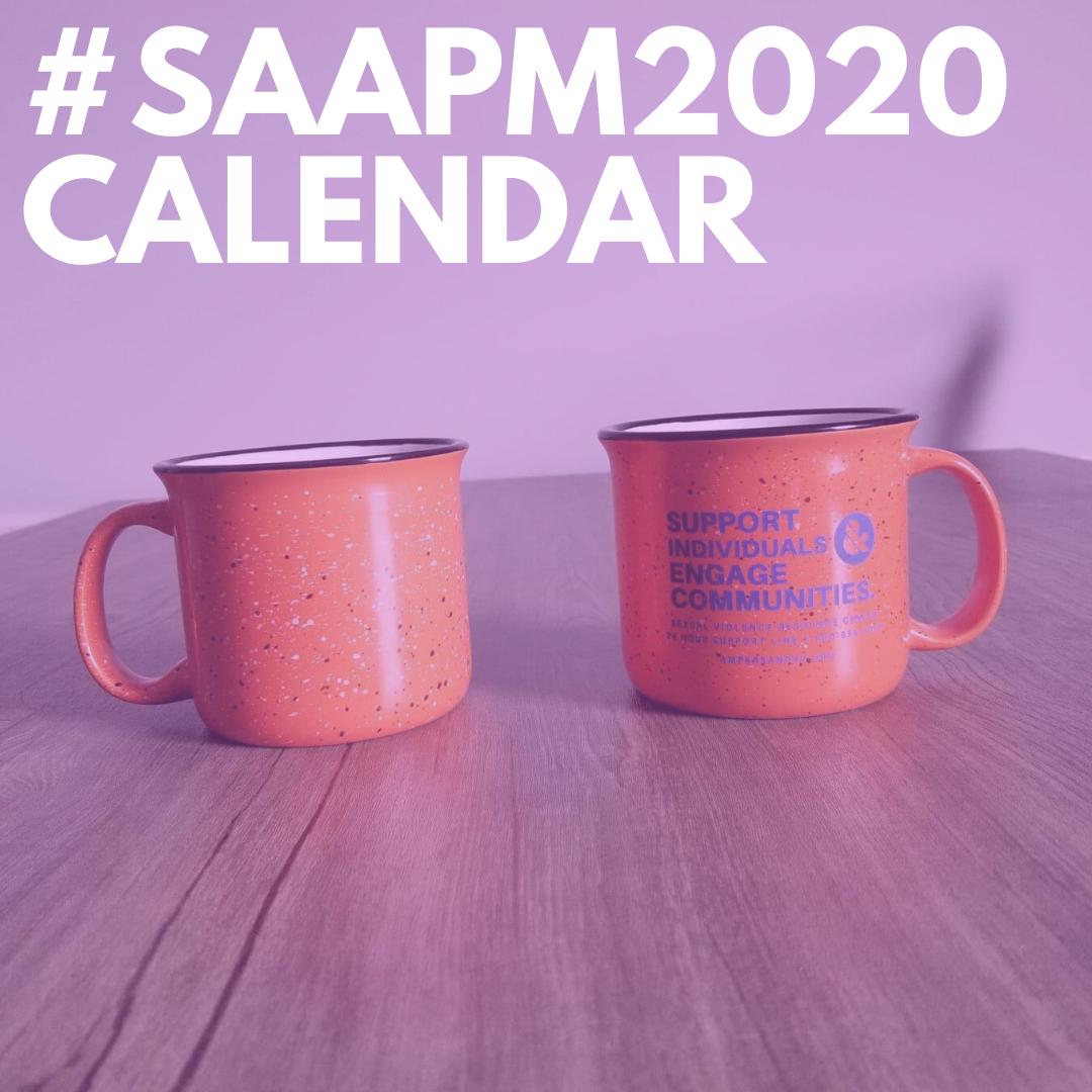 SAAPM2020 Calendar