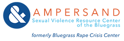 Ampersand Sexual Violence Resources Center of the Bluegrass Logo