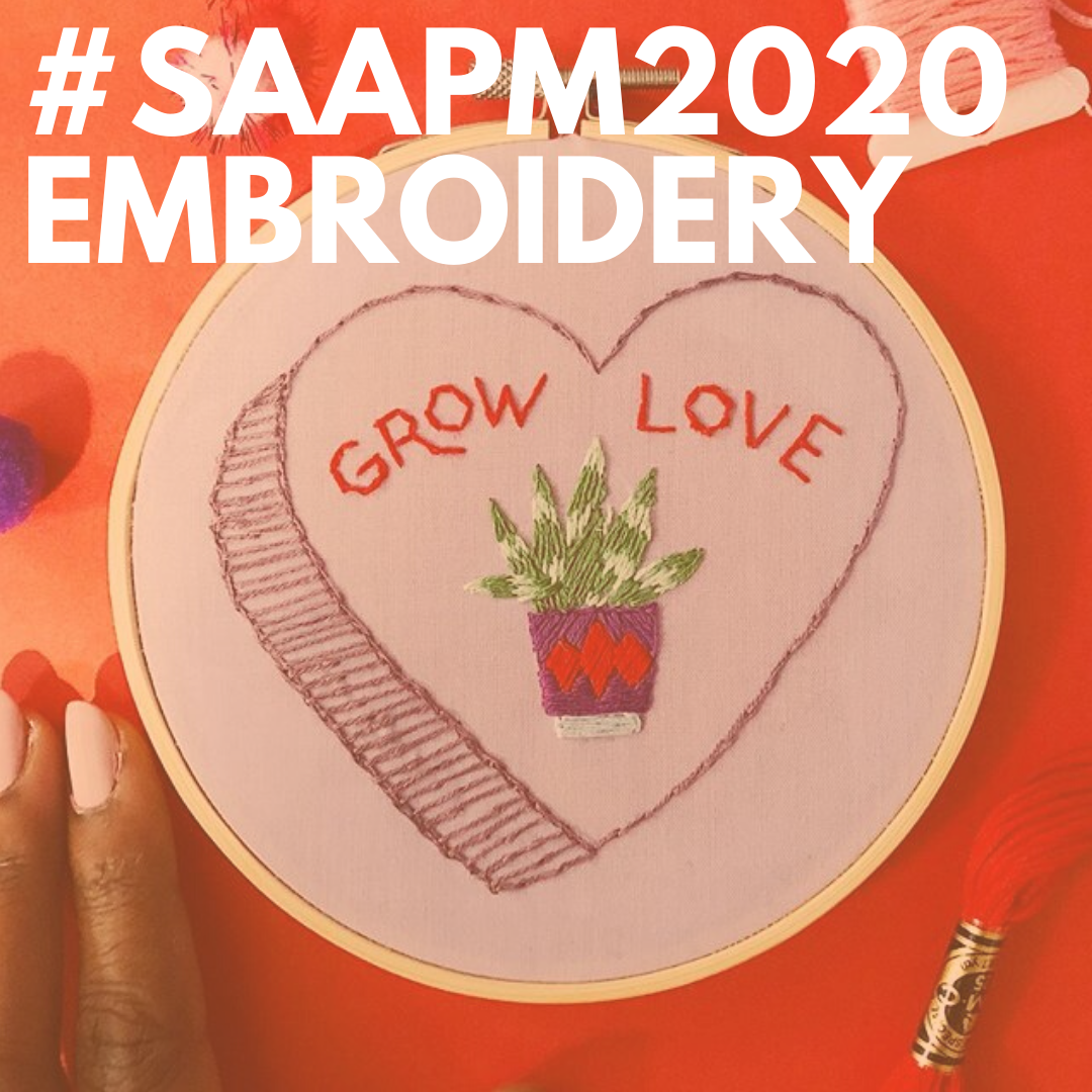 saapm embroidery
