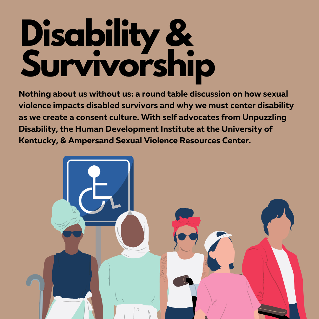 Disability and Survivorship graphic