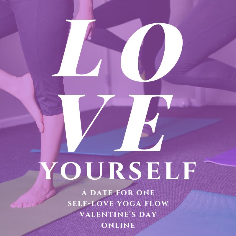 Love Yourself Self Love Yoga